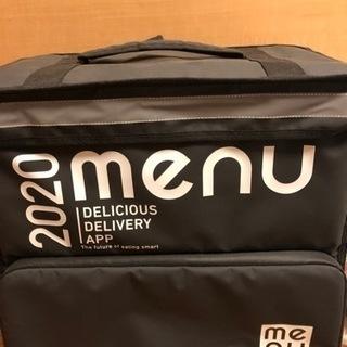 menu 配達 デリバリーバック