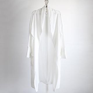 【ネット決済】【美品】albino 袖折りデザインショールカラー...