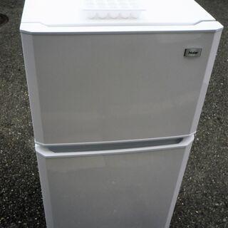 ☆ハイアール Haier JR-N106K 106L 2ドア冷凍...