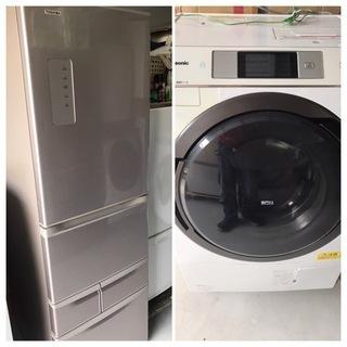 【直接引取送料無料】2016年製 格安ドラム式洗濯機&大型冷蔵庫...