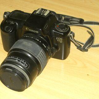 一眼レフカメラ(キャノン「EOS1000QD」)