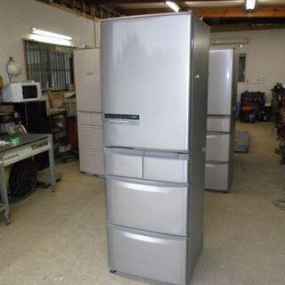 日立 冷凍冷蔵庫R-S42CM 2013年 5ドア 自動製氷付き...