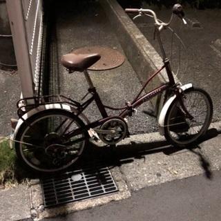 🉐🚲 折りたたみ自転車(20インチ)🚲🉐『 現在お約束中 』