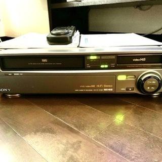 ソニー ビデオカセットレコーダー VHSデッキ+Hi 8 …