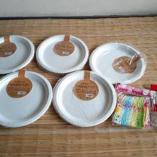 キャンプ道具 紙皿 フォーク マドラー
