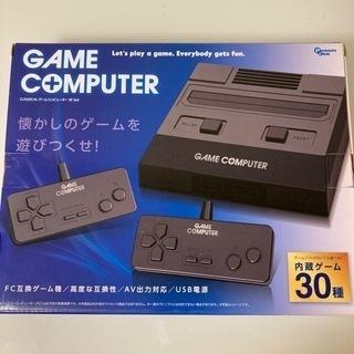 【ネット決済・配送可】FC ファミコン 互換ゲーム機 本体 コン...