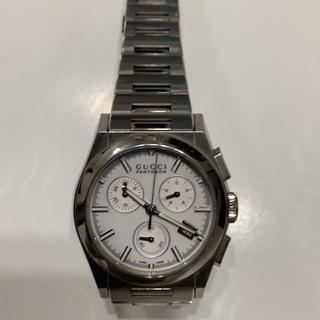 【ネット決済・配送可】GUCCI 腕時計 シルバー