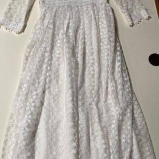 二次会ドレス 結婚式 レースワンピ