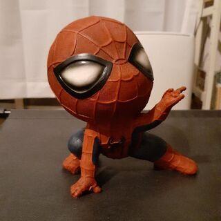 スパイダーマン オブジェ 貯金箱 置物 MARVEL