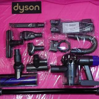 41  ダイソンV6♥スペ7(バッテリー新品)コードレス掃…