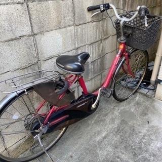 【無料】パナソニック電動自転車、パンク中