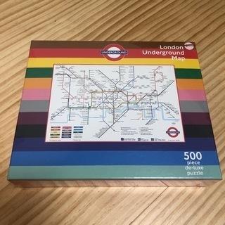 未開封 1ケース10個 ジグソーパズル ロンドン 地下鉄