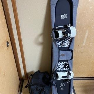 スノーボード ブーツ ビンディングセットです。