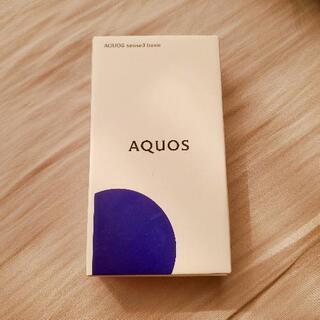 新品 AQUOS sence3 basic