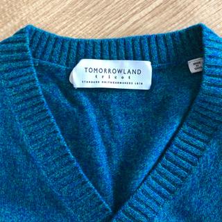 TOMORROW LAND ウールセーター 青緑 XS メンズ