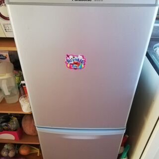 冷蔵庫PANASONIC 138L , 2015年製