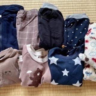 【美品】80サイズ 秋冬服9着セット