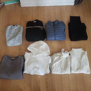 【ほぼ新品未使用も】冬物 服 衣類 まとめ売り