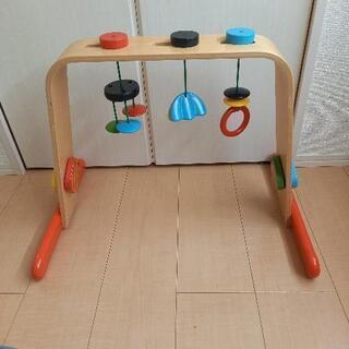 イケアベビージム 木製