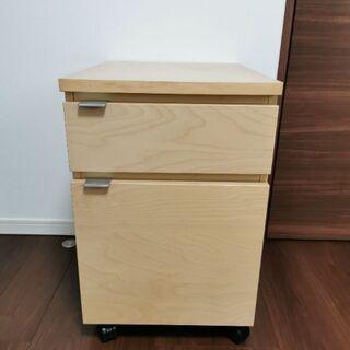 【無料】IKEA購入の袖机(オフィスデスク)