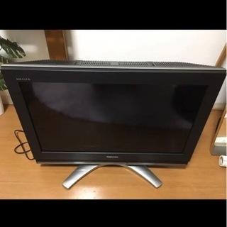 取引場所:加古町 TOSHIBA REGZAハイビジョン液晶テレビ