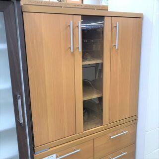 ■ニトリ 食器棚 キッチン収納 LBR-LV9090 木製■