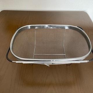 IKEA 伸縮ザル& トング2本