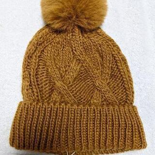 ZARA ニット帽 子供 6~9歳 頭囲54