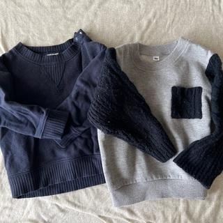 【ネット決済】長袖2枚セット80