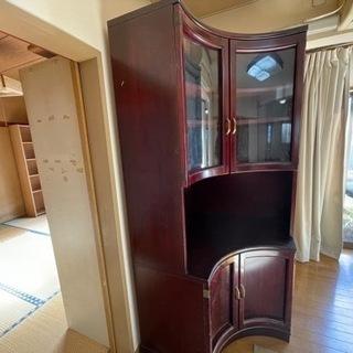 食器棚/ラック/棚/高級家具