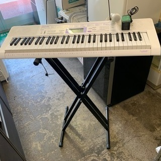 カシオ 電子ピアノ キーボード 61鍵盤 光ナビゲーション LK...