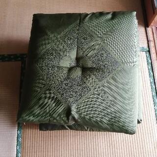 【ネット決済】グリーン座布団4個セット