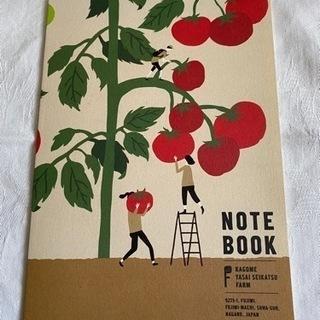 カゴメ オリジナルノート トマト柄 B5サイズ 1冊