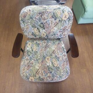 花柄 1人用 椅子