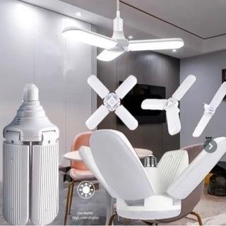 スクリューファンブレード角度調整可能な変形天井ランプLEDガレージ電球