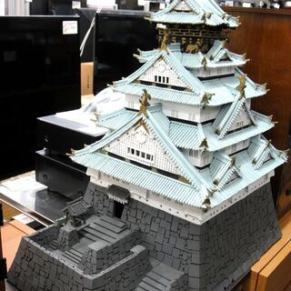 名古屋城 オブジェ 模型  143