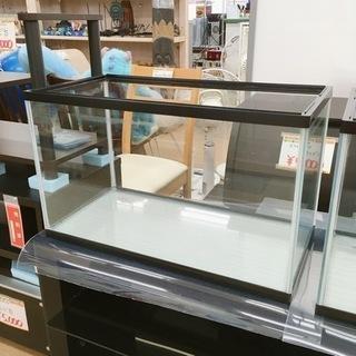 60×30㎝ ガラス水槽✨カルキ汚れあり✨水漏れチェック済…