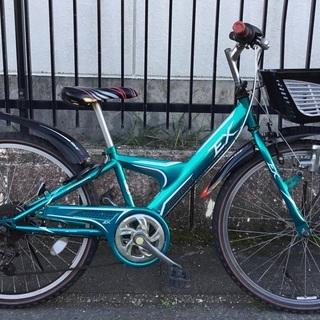 <整備済>ブリヂストン・24インチ・ジュニア自転車・シマノ…