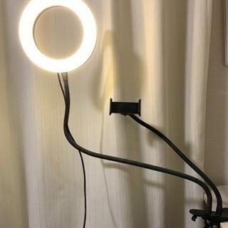 LEDリングライト ¥1000