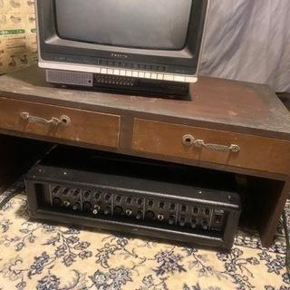 アンティークテレビ台