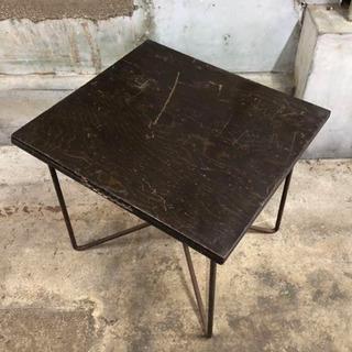 昭和レトロ 古道具 ナショナル台 テーブル
