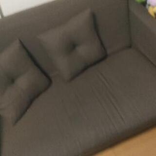 二人掛けソファベッド