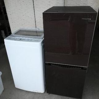 2021年製セット【23区送料・設置無料】⭐ハイセンス冷蔵…