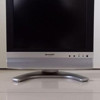 SHARP 13V型テレビ