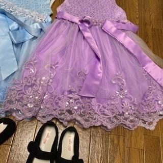子供服⭐︎ドレスと靴のセット2人分‼︎