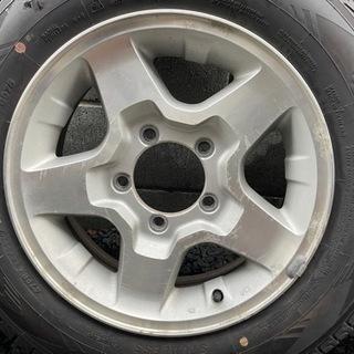 ジムニー ホイール 未使用タイヤ付き 4本セット