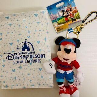 上海ディズニーランド 公式 お土産 ミッキー キーホルダー…