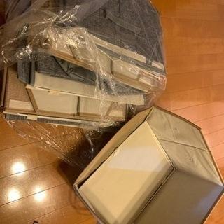 折り畳み衣装ケース 6セット