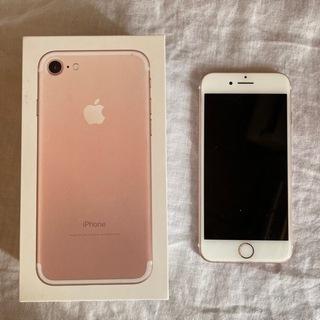 iPhone7本体のみ 128GB ローズゴールド