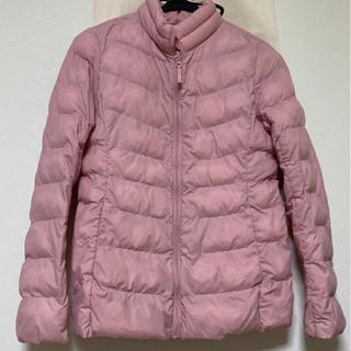 UNIQLO  ユニクロ 中綿ジャケット 薄ピンク サイズ150